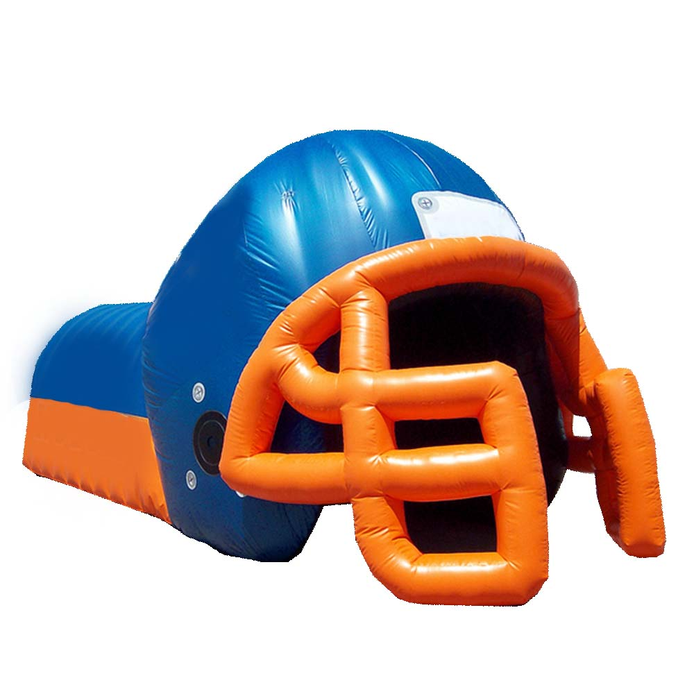 15ft helmet with tunnel blue-orange.